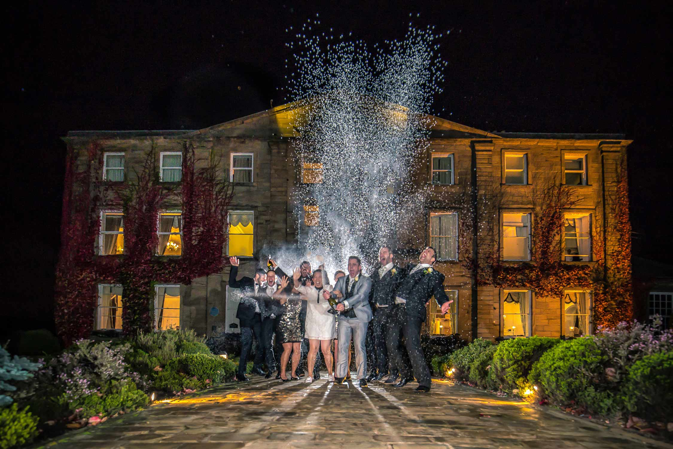 Waterton park Wedding photography by Ben Cumming - Yorkshire wedding photographer