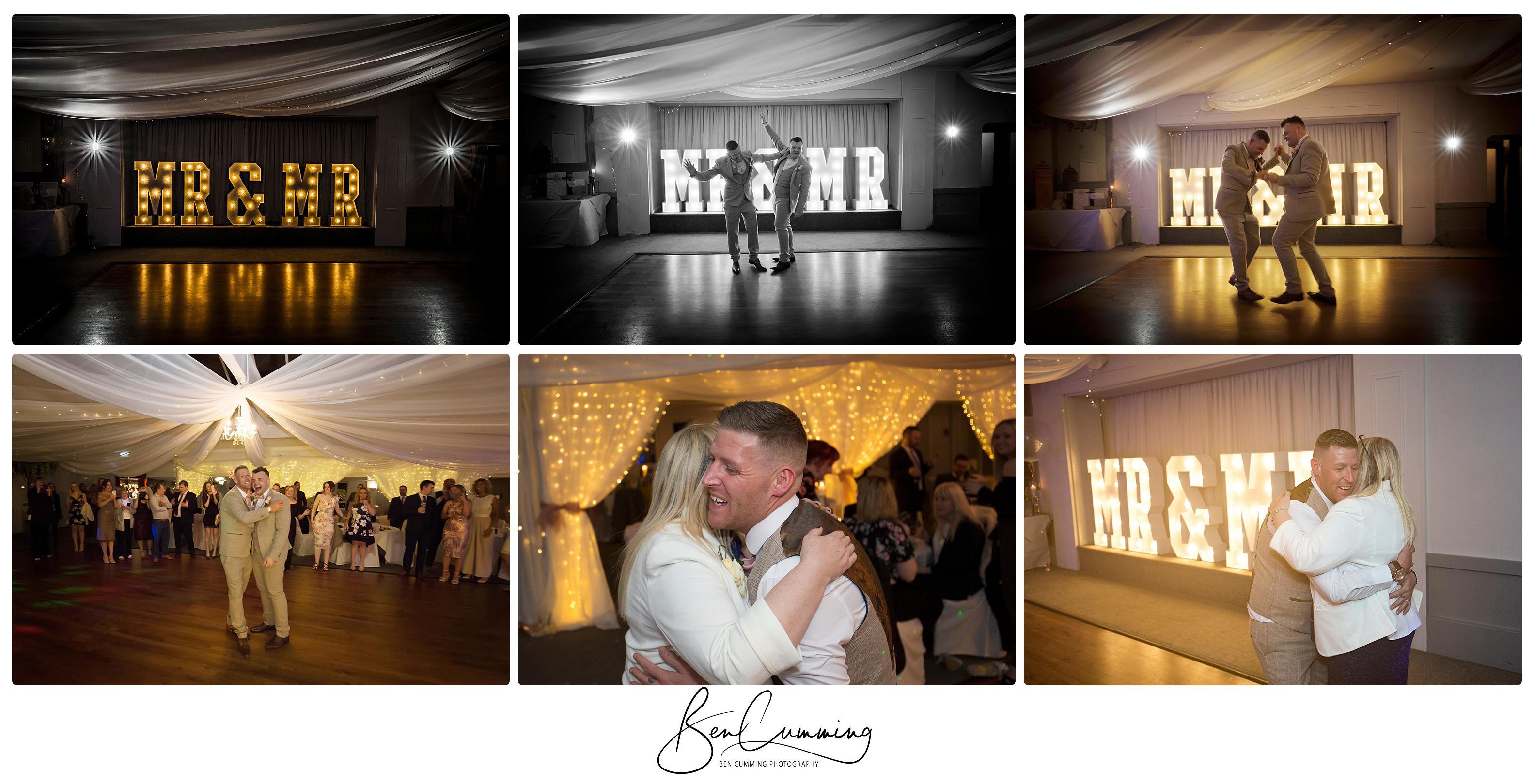 The First dance Ben Cumming photography