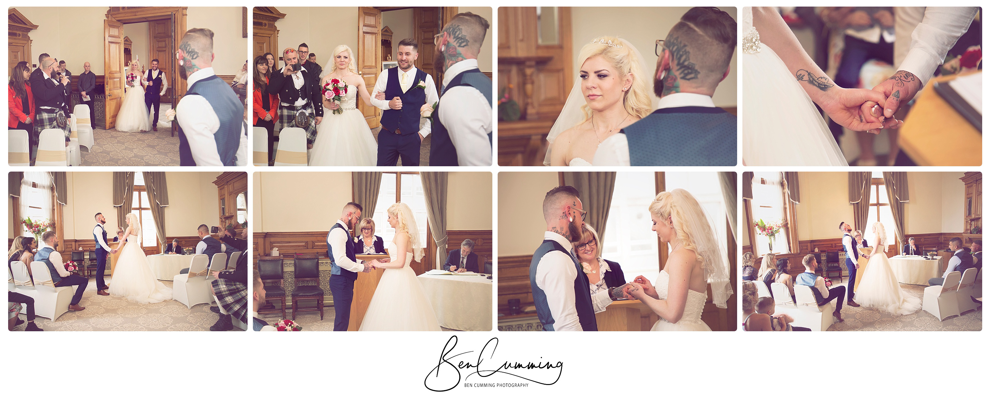 Dewsbury Town Hall Wedding Ceremony