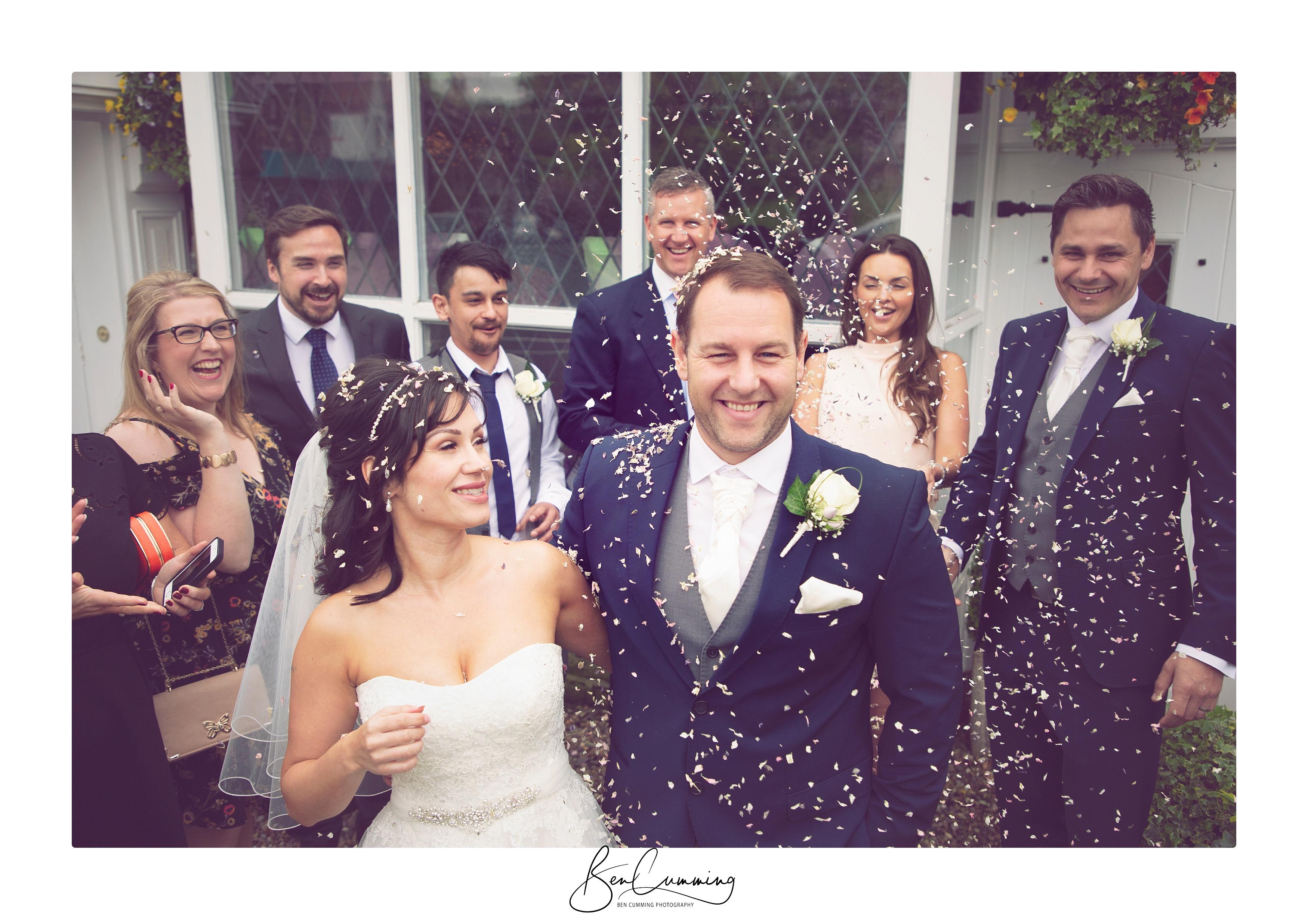Leeds Wedding Photographer Ben Cumming Wedding Group Shot
