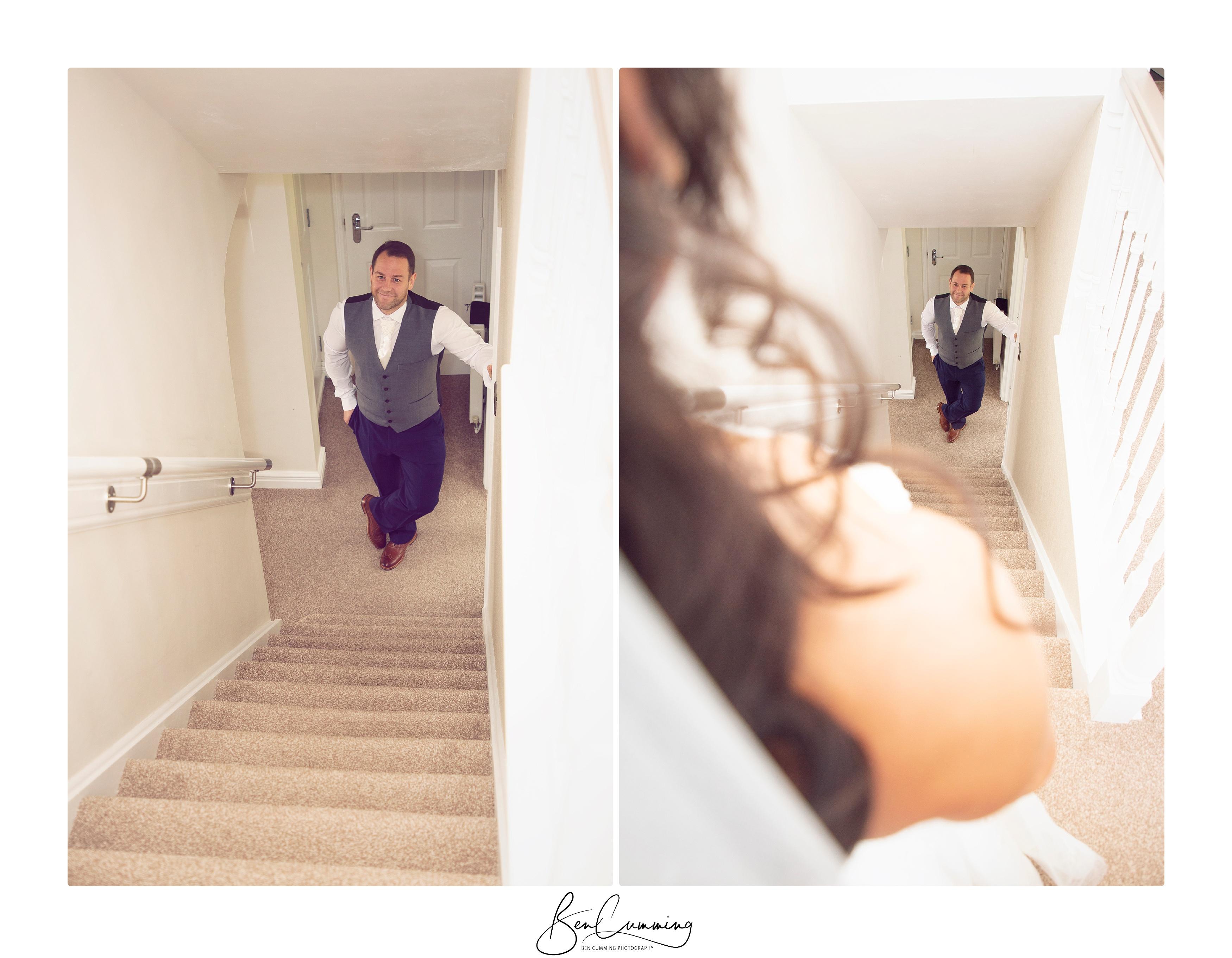 Leeds Wedding Photographer Ben Cumming Bridal 1st Look
