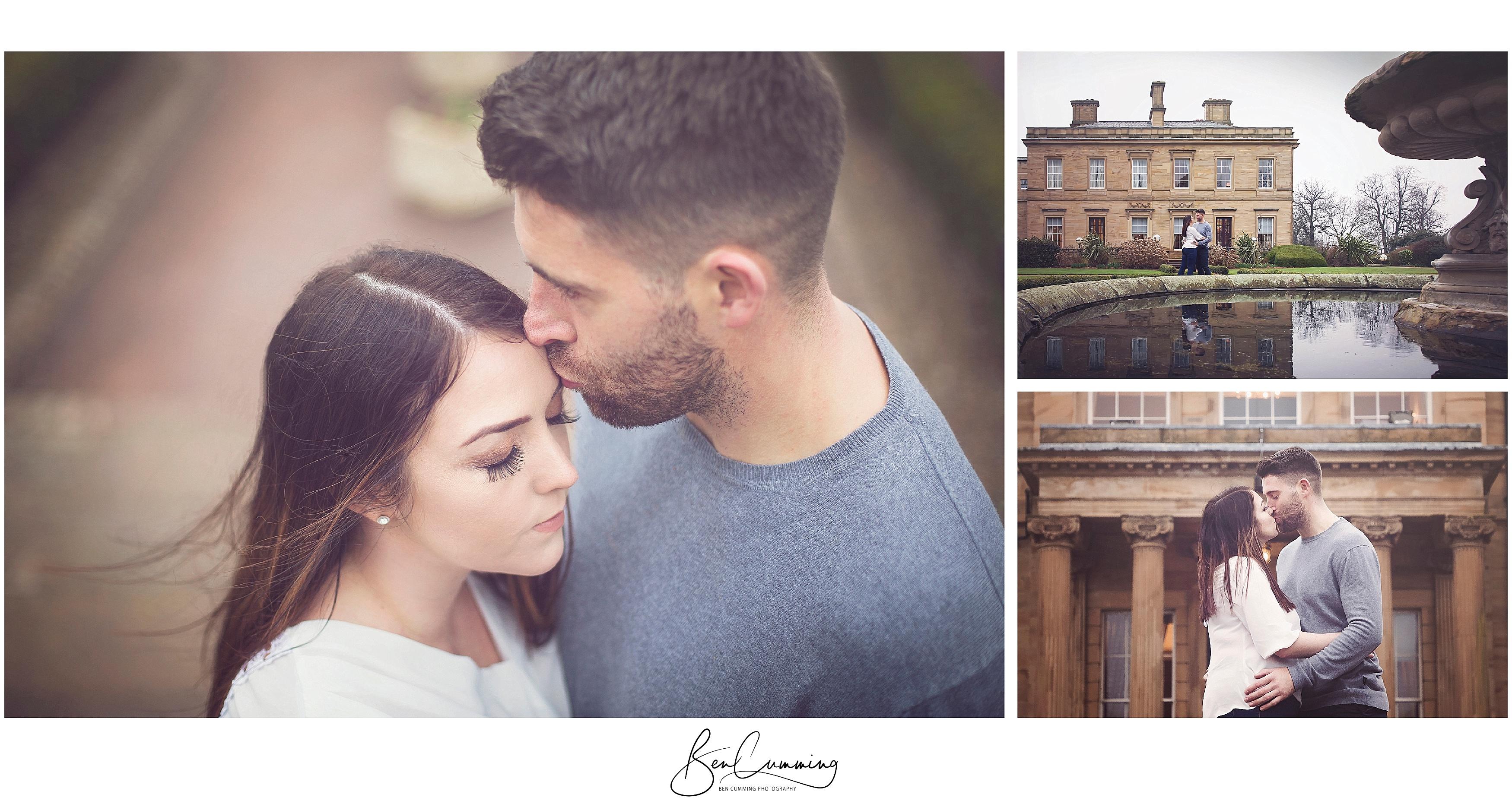 Pre-Wedding shoot at Oulton Hall Ben Cumming Photography