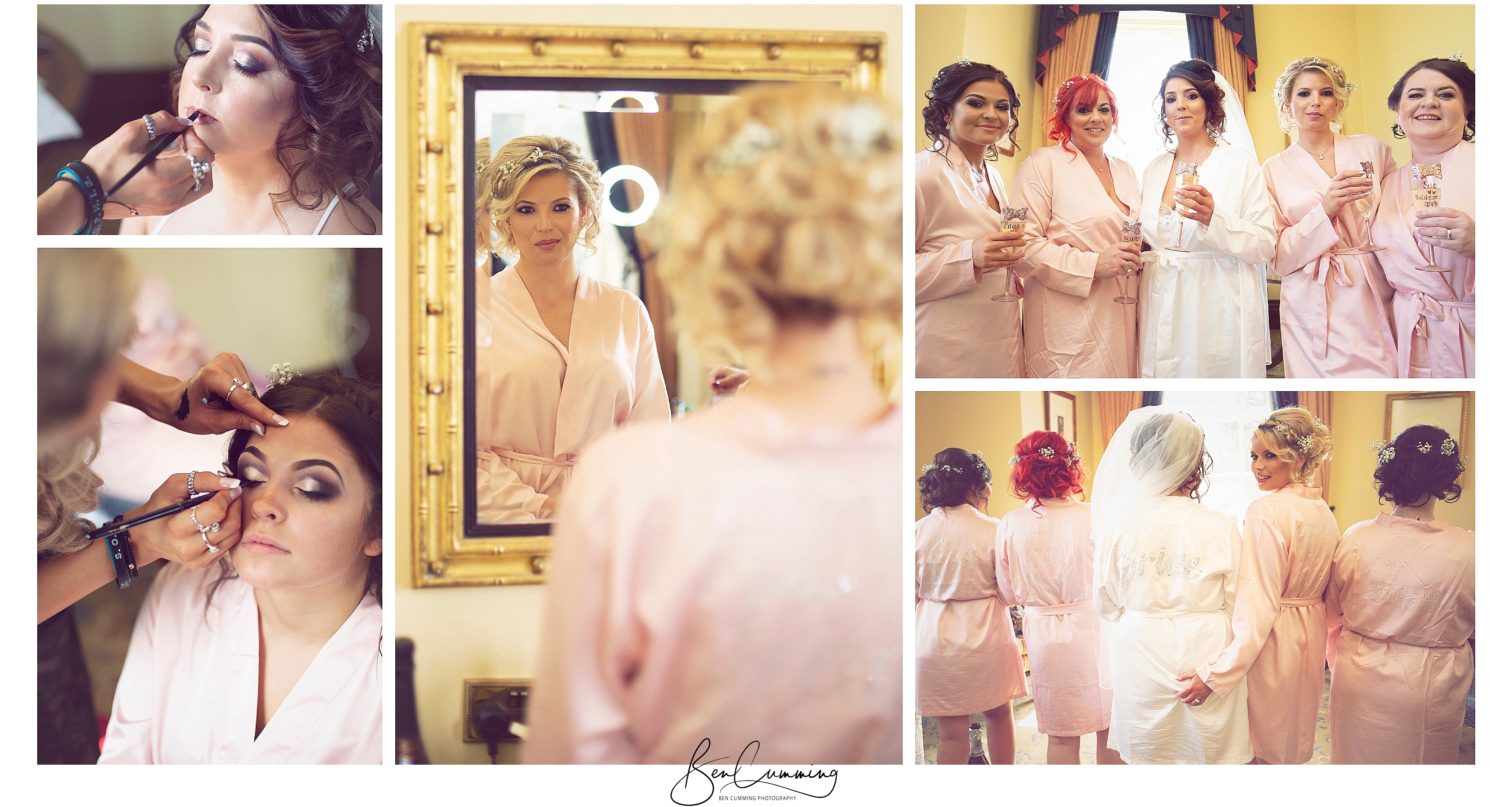 Oulton Hall Bridal Preps Ben Cumming Photography