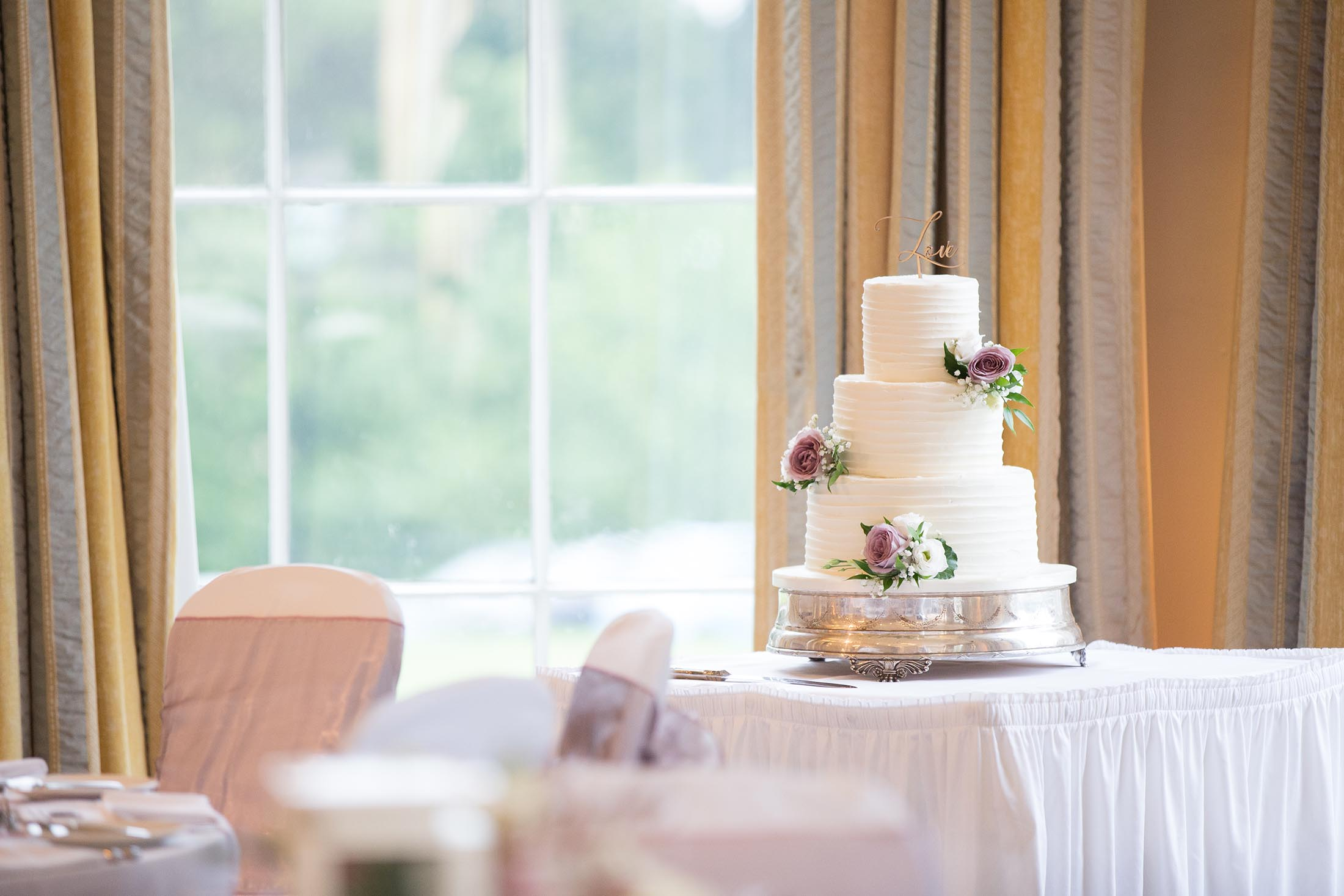 The Wedding Cake at Rudding Park