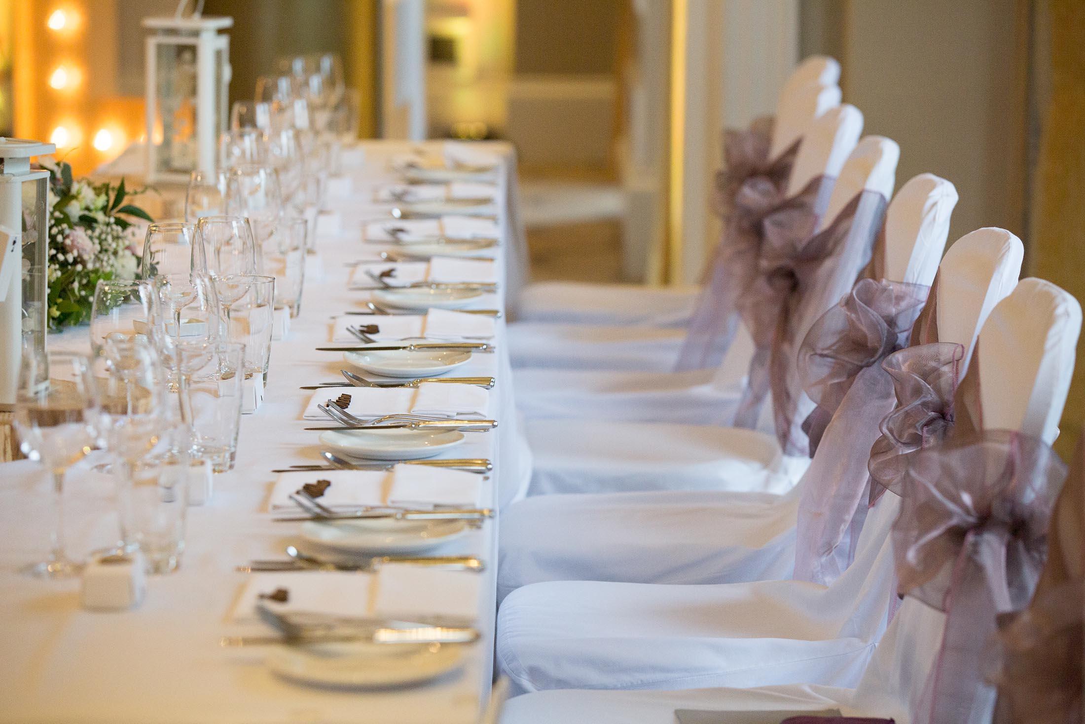The Wedding Breakfast Room at Rudding Park