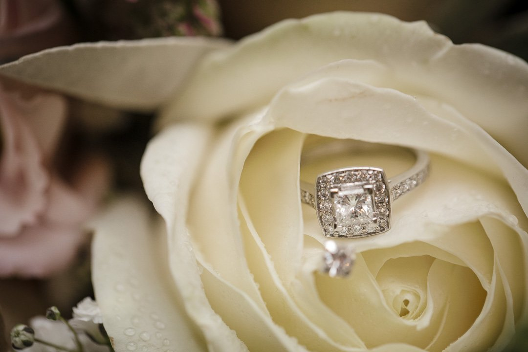 The Brides Engagement ring at Rudding Park