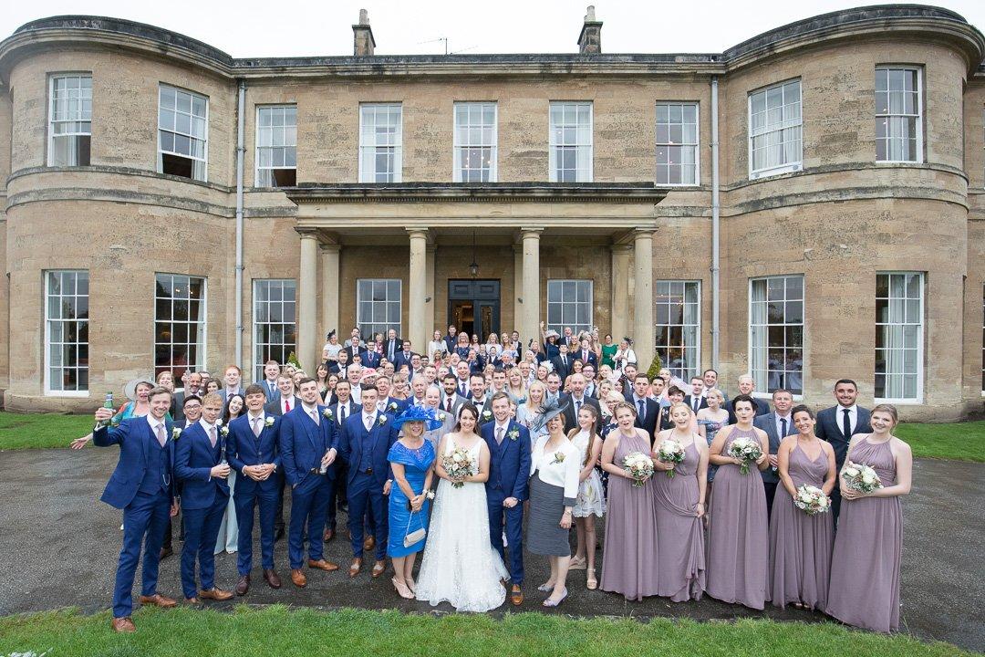 Wedding Group Photo at Rudding Park