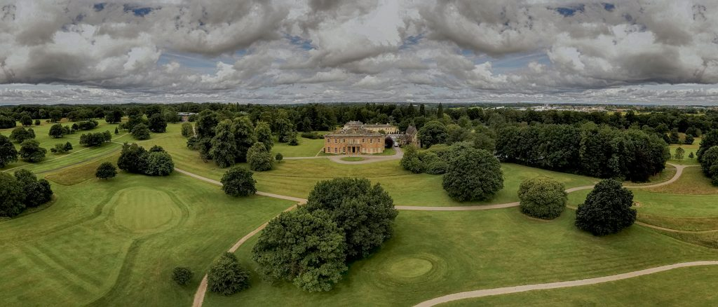 Rudding Park Wedding Photography - Drone Shot by Ben Cumming