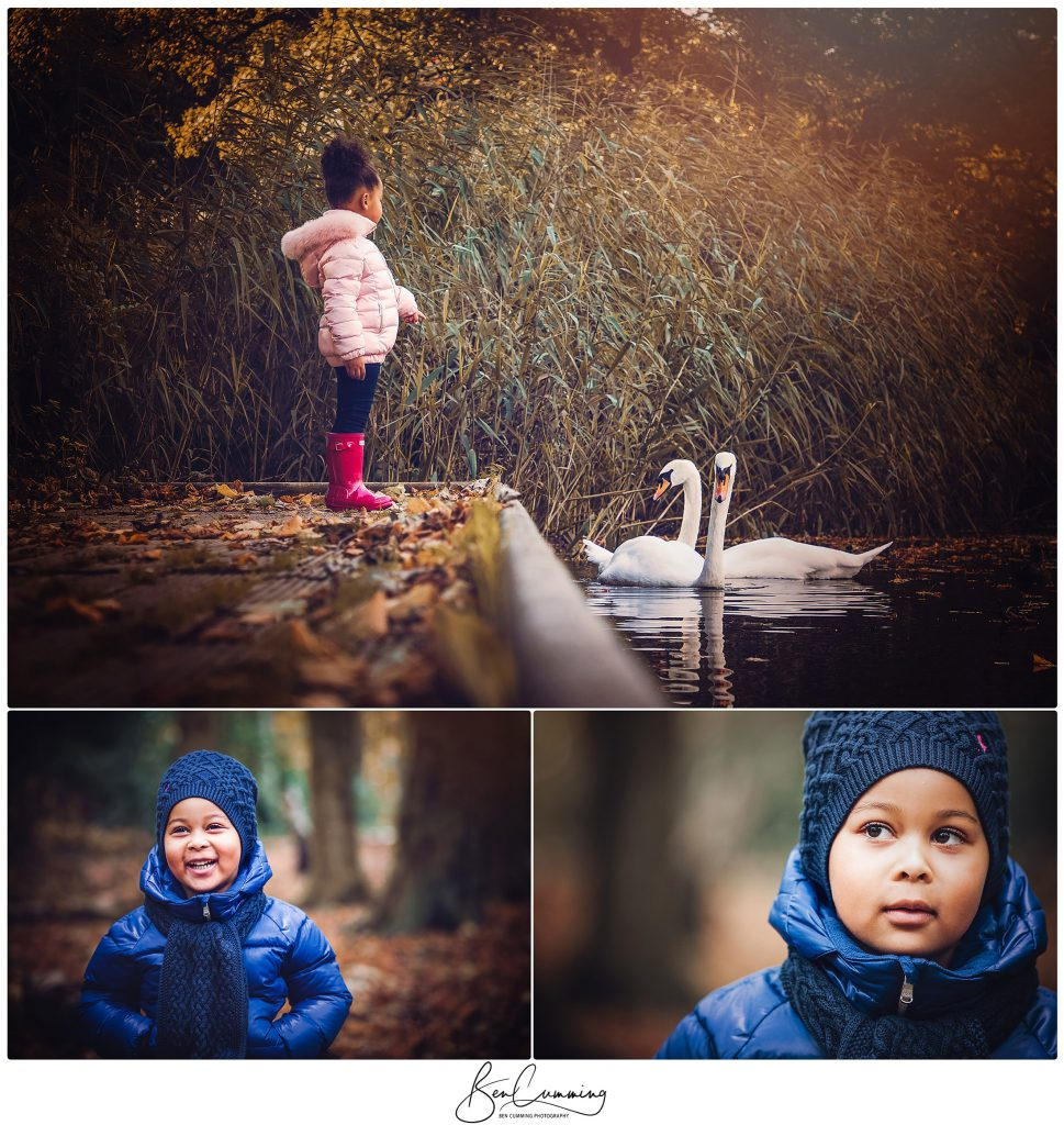 Portraits in Roundhay Park